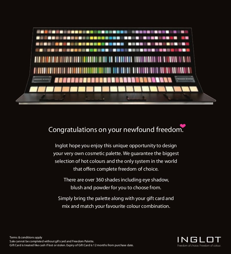 INGLOT Packaging for Freedom System