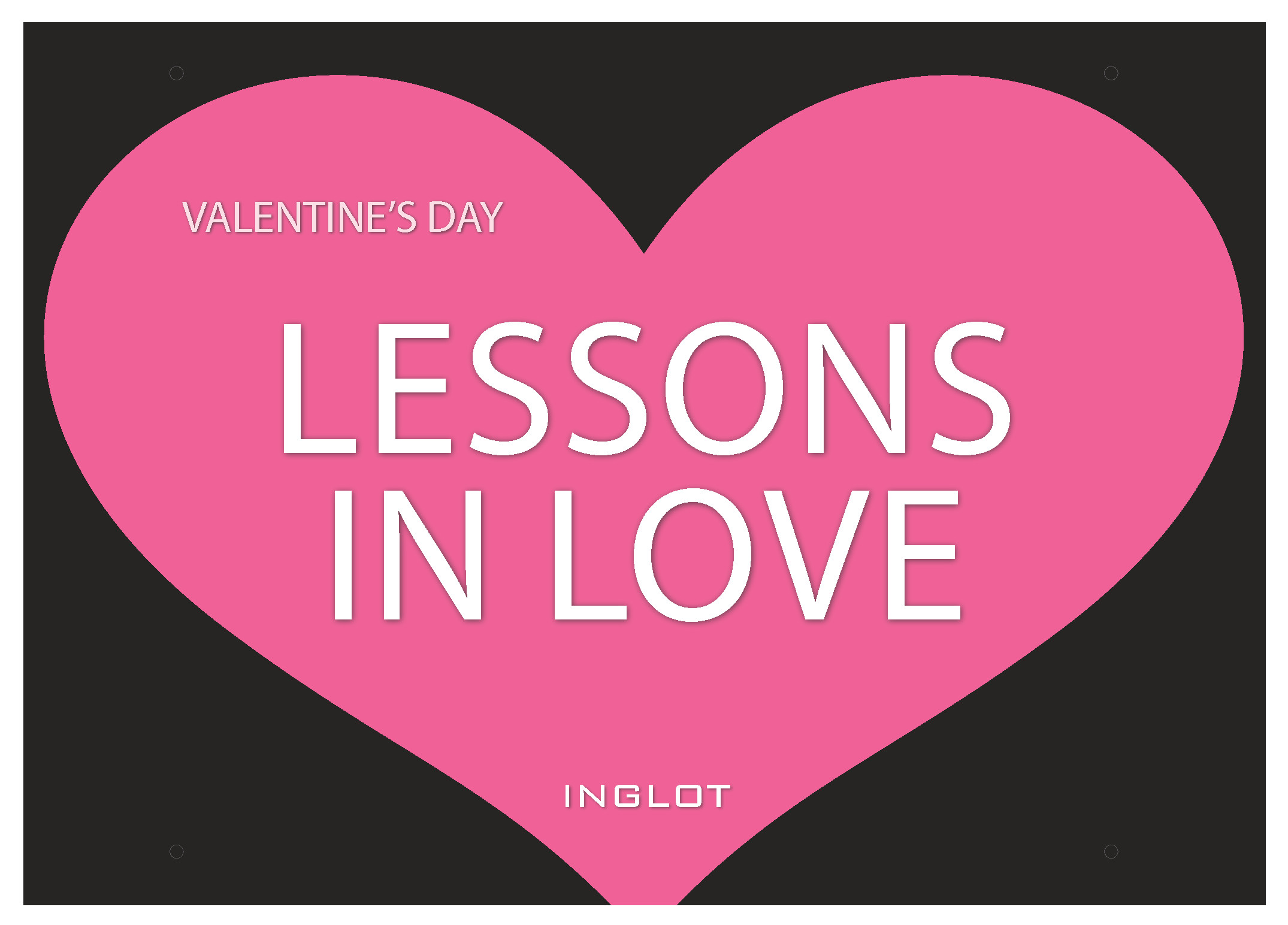 Lessons in Love - introducing INGLOT's Valentine's Day promotion