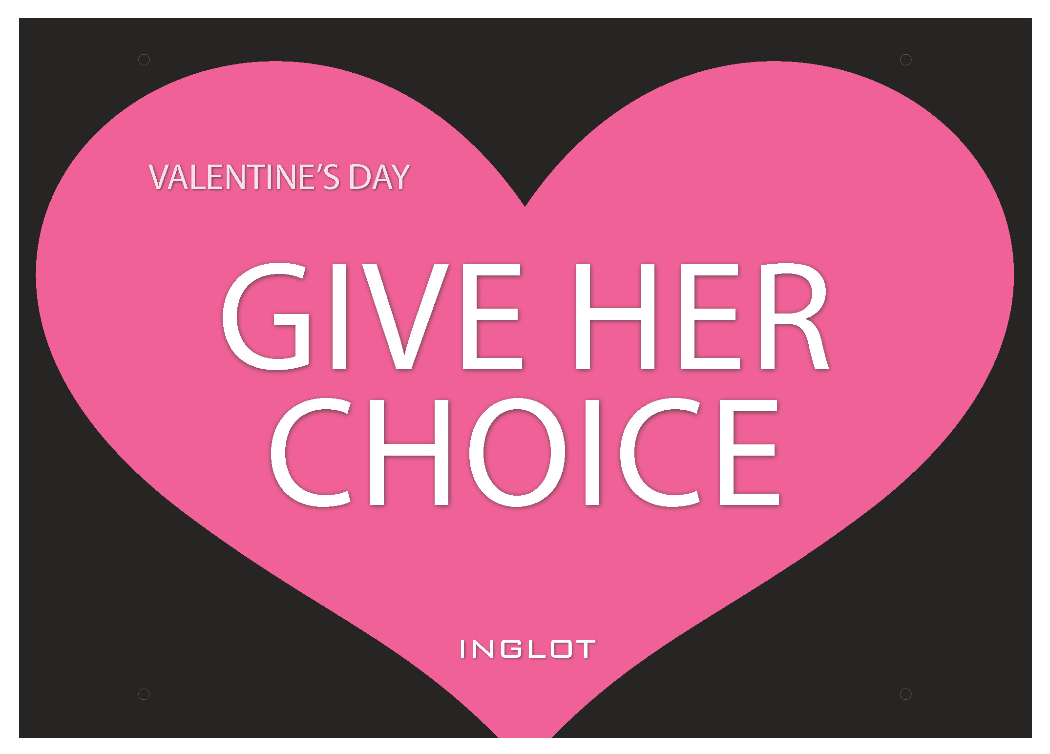 INGLOT Valentine's Day Promotion