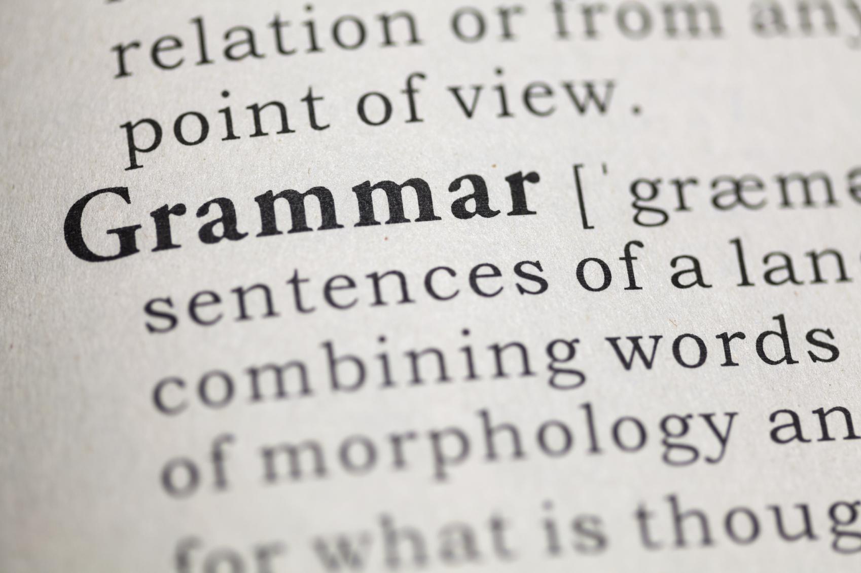 Writer's Blog, Grammar, Sometime